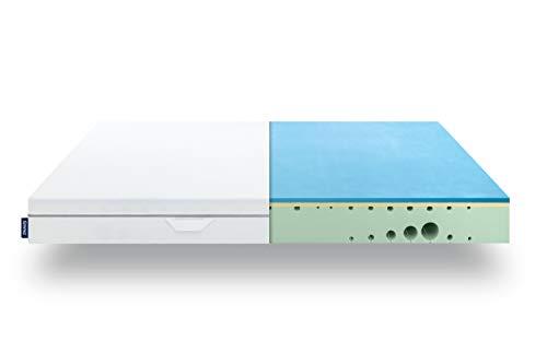 EMMA® One Matratze 90x200cm | Atmungsaktives Premium Material & 7 Zonen | 10 Jahre Garantie & 100 Nächte Testschlafen