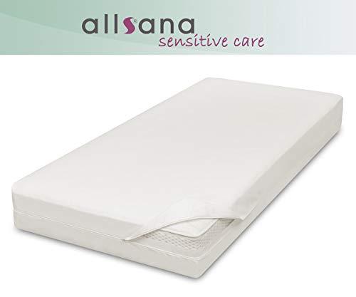 allsana Allergiker Matratzenbezug 100x200x24 cm Allergie Bettwäsche Anti Milben Encasing Milbenschutz für Hausstauballergiker