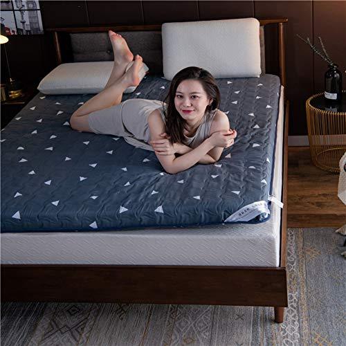 GWW Japaner Boden Kaltschaummatratze, Folding Matt Mat Schlafen Pad Komfürt Haut-freundlich Matratzenauflage Für Schlafsaal Roll-up Bett-e 120x200cm(47x79inch)